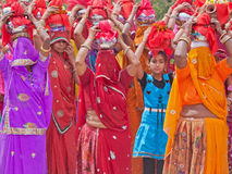 印度游行 库存照片