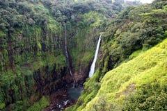 印度瀑布 库存图片