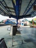 印度火车站 免版税库存照片