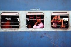 印度火车站 库存图片