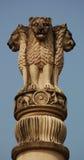 印度狮子符号 库存图片