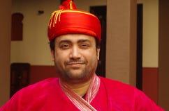 印度王子的特写镜头 免版税库存图片