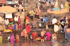 印度瓦腊纳西 库存图片