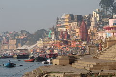印度瓦腊纳西 免版税库存图片