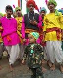印度的共和国天 图库摄影