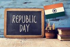 印度的共和国天 库存照片