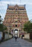 印度的古庙 免版税库存照片