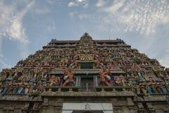印度的古庙 免版税图库摄影