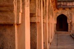 印度的古老建筑学 库存照片