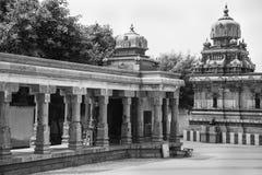 印度的古老Dravidian寺庙 免版税库存照片