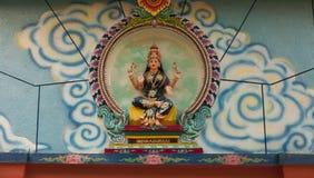 印度的女神 库存照片