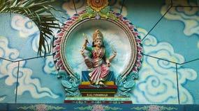 印度的女神 免版税库存图片