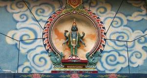 印度的女神 免版税库存照片