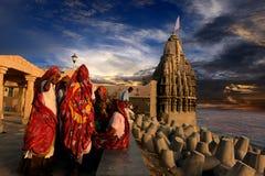 印度的宗教地方 免版税库存图片