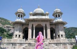 印度的宗教寺庙 图库摄影