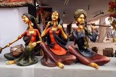 印度的工艺品 免版税库存照片