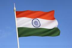 印度的旗子 免版税库存照片