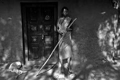 印度的森林人 免版税库存照片