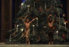 印度的王子和公主第二个行动第二领域糖果王国-芭蕾胡桃钳 库存图片