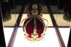 印度的皇家冠的模仿1911年 库存图片