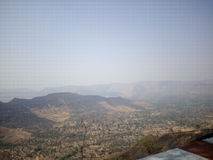印度的西高止山脉 免版税库存图片