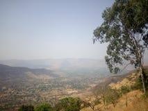 印度的西高止山脉 库存图片
