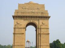 印度的门在印度的首都 库存照片