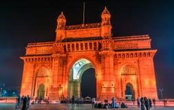 印度的门户在孟买 免版税库存图片