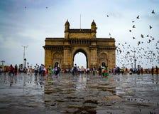 印度的门户 图库摄影