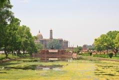 印度的总统的住所 10 1986 2007 2011全部,因为baha德里房子我开始了印第安已知的莲花母亲新的11月人员服务次大陆寺庙崇拜 免版税图库摄影