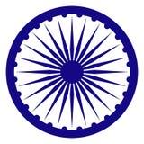 印度的Ashoka查克拉 皇族释放例证