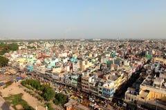 印度的Urbanview scape 免版税库存照片