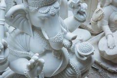 印度神和女神雕象  印度的工艺和艺术 Mur 库存图片