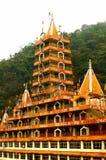 印度神的圣洁多孔黏土 免版税库存照片