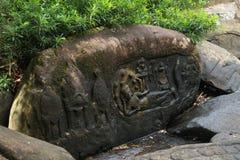 印度神,希瓦 库存图片