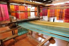 印度织布机 免版税库存照片