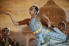印度舞蹈家 库存照片