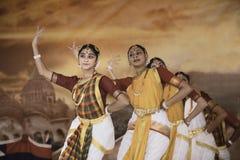 印度舞蹈家 免版税图库摄影
