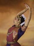 印度舞蹈演员 库存图片