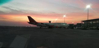 印度航空 图库摄影