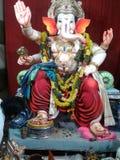 印度节日的Ganesha阁下 库存照片