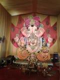 印度节日的Ganesha阁下 库存图片
