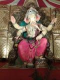 印度节日的Ganesha阁下 免版税图库摄影