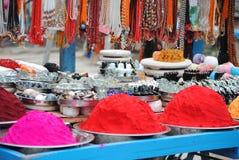 印度街道视图 图库摄影