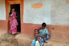 印度贫穷 图库摄影
