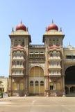 印度迈索尔宫殿 免版税库存图片