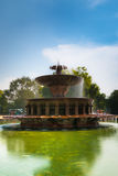 印度门喷泉 免版税图库摄影