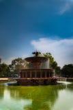 印度门喷泉 图库摄影