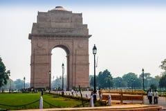 印度门在新德里 库存图片