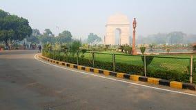 印度门,新德里印度 库存照片